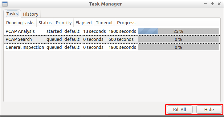 Cancel Tasks