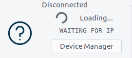 Device Disconnected