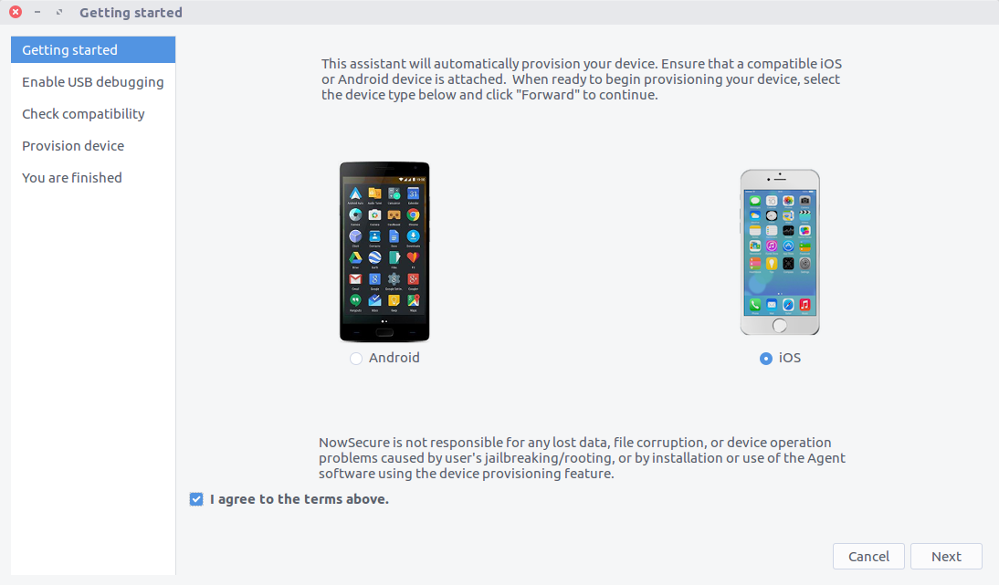 iOS Device Provisioning
