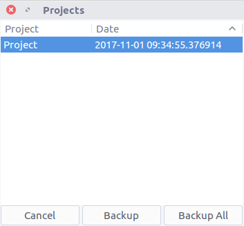 Backup Project